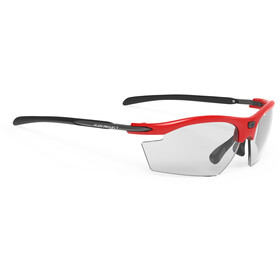 Rudy Project Rydon Okulary rowerowe, fire red gloss - impactx photochromic 2 black